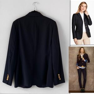 Brooks Brothers Jackets & Coats - Brooks Brothers Two Button Navy Wool Blazer SZ 8